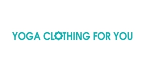 Yoga Clothing For You coupon