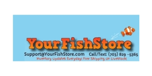 Your Fish Store coupon